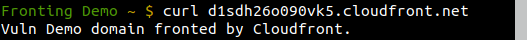 Proof the domain d1sdh26o090vk5.cloudfront.net is working